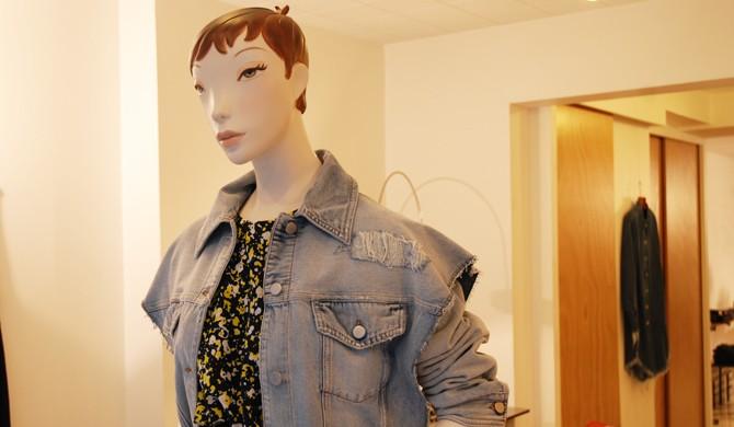 MM6 veste en jean, CHEDRIC CHARLIER top