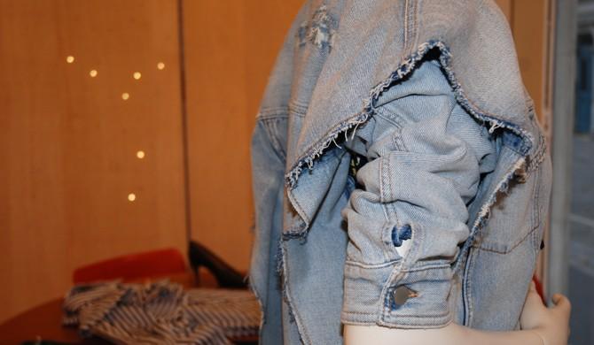 MM6 veste en jean