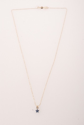 LAURA LEE star sapphire necklace